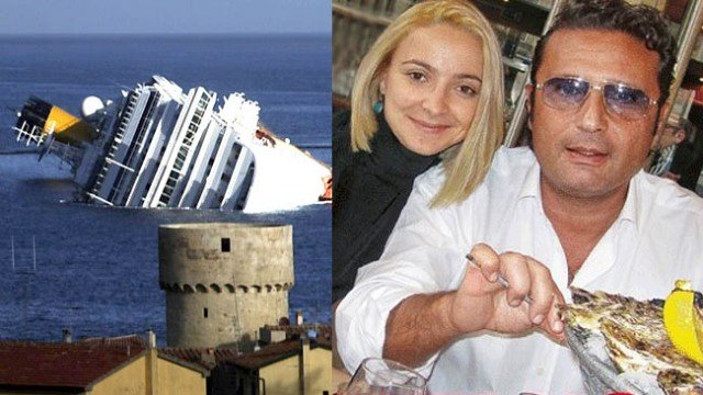Domnica Cemortan admitted at Francesco Schettino's trial she had been in a romantic relationship with the captain