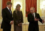 Dutch King Willem-Alexander and Queen Maxim met Russian President Vladimir Putin in Moscow