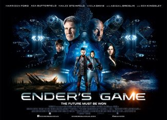 Ender's Game has topped the US box office chart in its opening weekend
