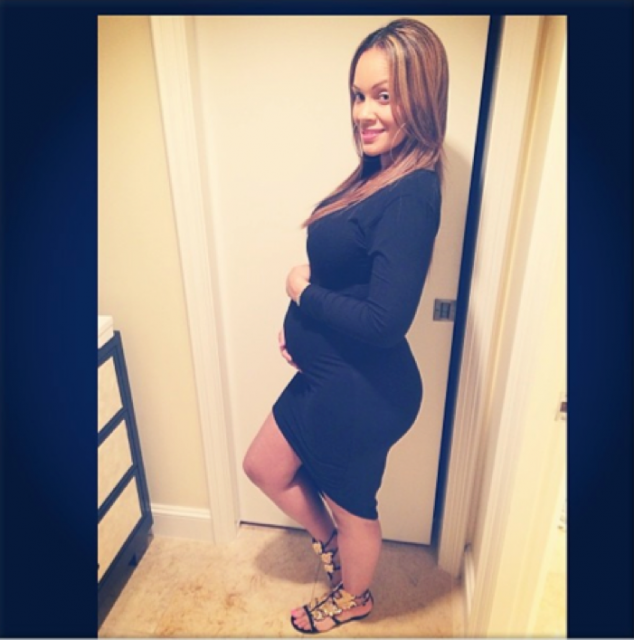 Evelyn Lozada is pregnant with her second child