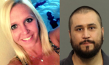 George Zimmerman was arrested and charged in connection with threatening girlfriend Samantha Scheibe with a gun