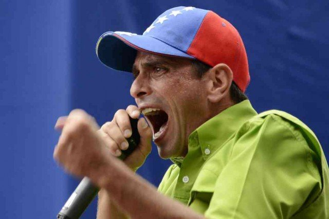 Henrique Capriles has told a crowd of supporters not to feel intimidated and to vote in upcoming local elections