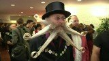 Hundreds of contestants have gathered for the World Beard and Moustache Championships in Germany
