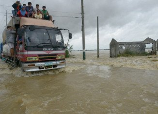 In Quang Ngai province, flood waters reportedly rose above a previous peak recorded in 1999