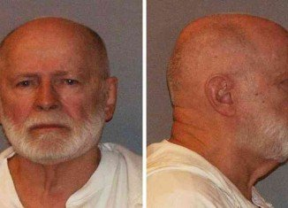 "James ""Whitey"" Bulger has been handed two life sentences plus five years"
