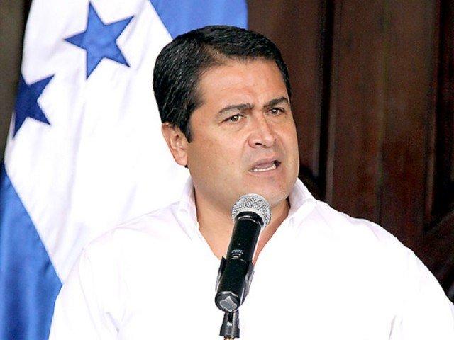 Juan Orlando Hernandez has been declared the winner of Sunday's presidential poll in Honduras