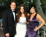 Khloe Kardashian has open up about Kris Jenner's separation from her stepfather, Bruce Jenner