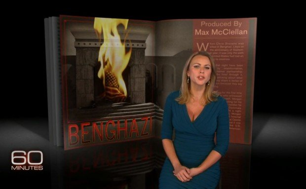 Lara Logan a reporter for 60 Minutes said a source had provided false information during a Benghazi report aired on October 27 photo