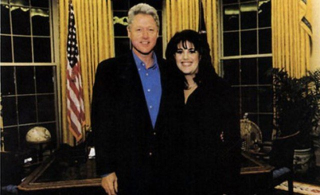 Monica Lewinsky was involved in a romantic relationship with President Bill Clinton between the winter of 1995 and March 1997 640x390 photo