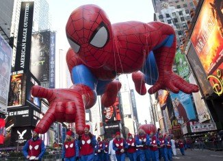 More than 3.5 million spectators watched the 87th Macy's Thanksgiving Day Parade on the streets of New York City