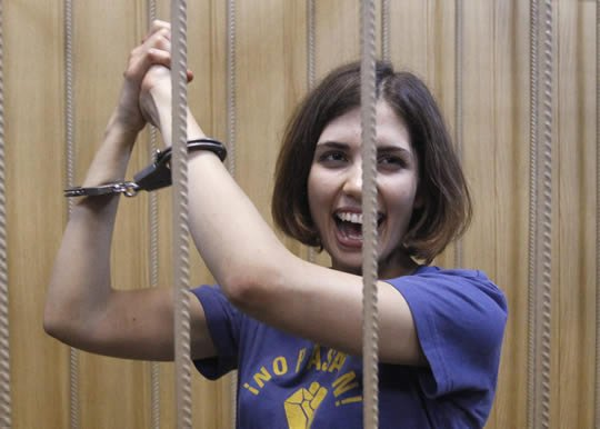 Nadezhda Tolokonnikova has vanished from sight since she was moved to a new prison 10 days ago