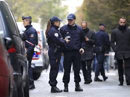 Paris authorities have launched a manhunt after a gunman attacked offices of the newspaper Liberation and fired outside the HQ of the bank Societe Generale photo