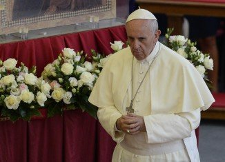 Pope Francis has called for power in the Catholic Church to be devolved away from the Vatican