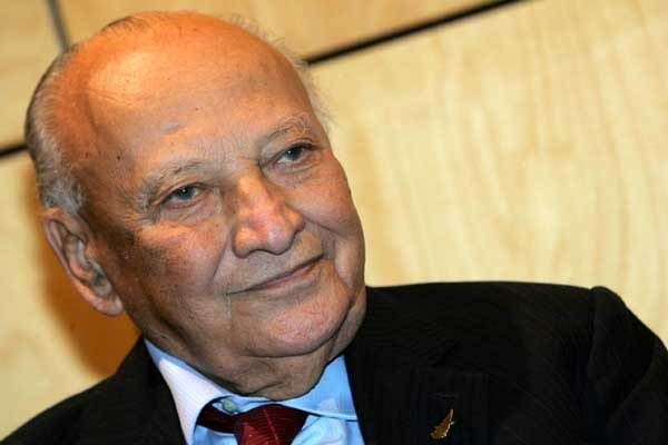 President Glafcos Clerides is the man who steered Cyprus into EU