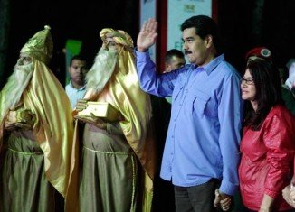 President Nicolas Maduro announced the Christmas season would come early in Venezuela and holiday bonuses would be issued in November