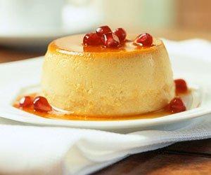 Pumpkin Crème Caramel