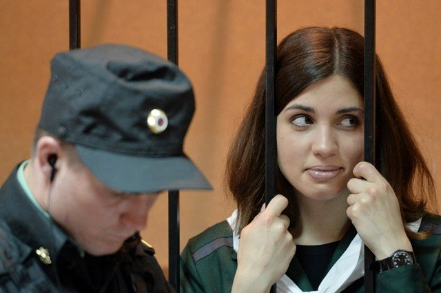 Pussy Riot's Nadezhda Tolokonnikova has been found in a prison hospital in western Siberia