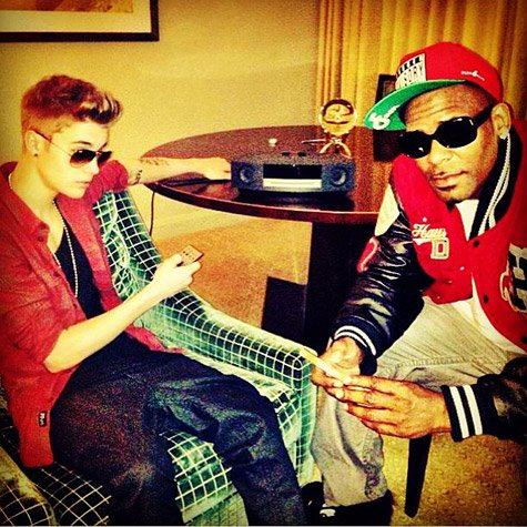 R.Kelly confirmed that he has recorded a song with Justin Bieber