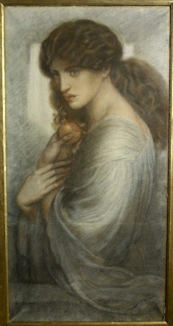Rossetti's Proserpine, depicting the empress of the underworld, is a defining image of the Pre-Raphaelite art movement