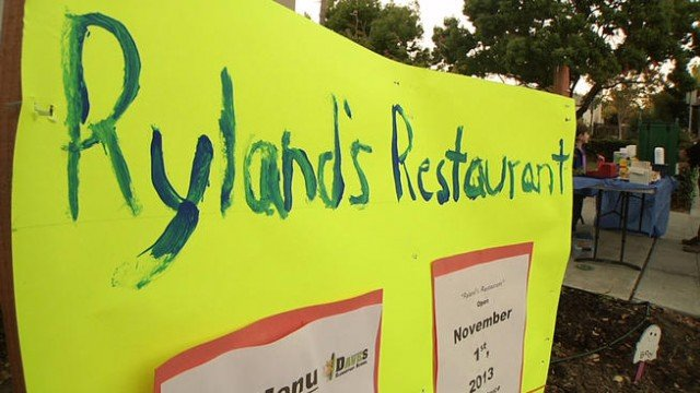 Ryland Goldman is the 7-year-old owner of Ryland's Restaurant opened in Los Gatos
