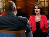 Sarah Palin stopped by the Today show on Monday, where she promptly got into with host Matt Lauer about healthcare