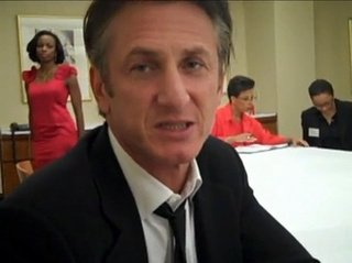 Sean Penn screamed at a fan in a San Francisco hotel bar