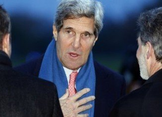 Secretary of State John Kerry has arrived in Geneva for Iran nuclear talks