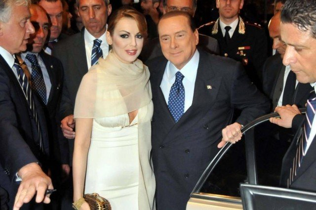 Silvio Berlusconi has married his fiancée Francesca Pascale last month in a secret wedding at his private chapel in Milan 640x425 photo