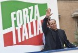 Silvio Berlusconi has relaunched Forza Italia party as his People of Freedom party split between his supporters