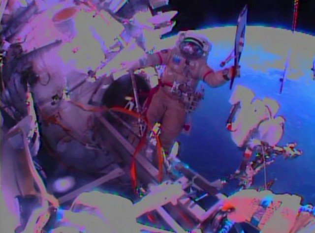 Soyuz capsule carrying the Sochi 2014 Olympic torch has returned to Earth after it was taken on its first spacewalk