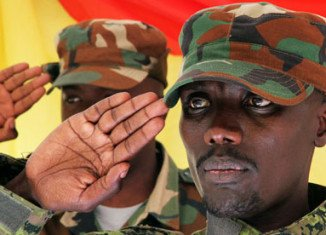 Sultani Makenga is said to have handed himself over along with hundreds of M23 fighters in the Mgahinga National Park