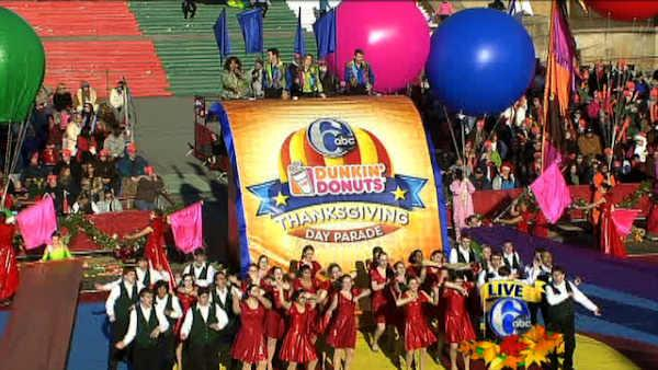 The 94th Annual 6abc Dunkin' Donuts Thanksgiving Day Parade kicks off on November 28 with a half hour preview show followed by three hours of parade action photo