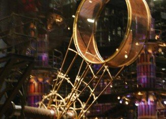 "The Cirque De Soleil acrobat was performing in an act known as the ""Wheel of Death"" during showing of the Zarkana stage production at the Aria Resort and Casino when he slipped and fell off the wheel"