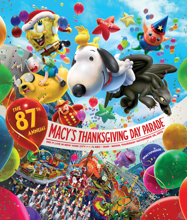 This year's Macy's Thanksgiving Day Parade will have four new balloons photo
