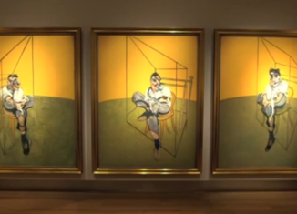 Three Studies of Lucian Freud, painted in 1969, is considered one of Francis Bacon's greatest masterpieces