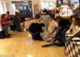 Two women got into a stun gun brawl inside of the Franklin Mills Mall in Northeast Philadelphia during Black Friday shopping