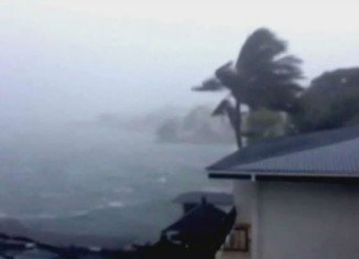 Typhoon Haiyan has hit the central Philippines with sustained winds of 146 mph