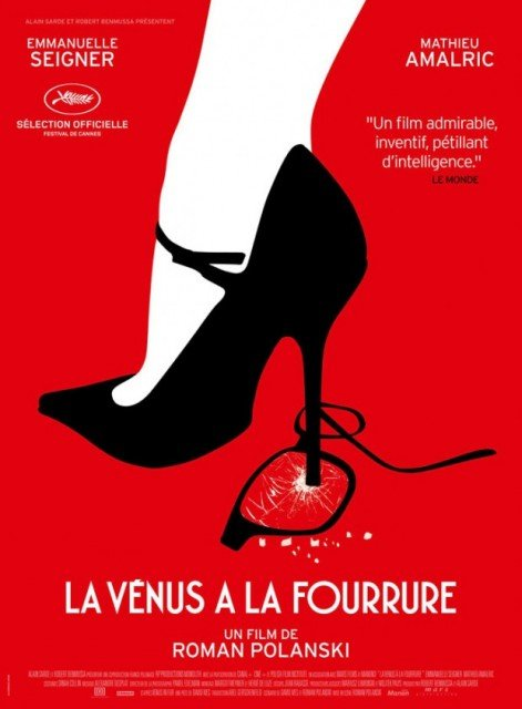Venus in Fur premiered at the Cannes Film Festival in 2013