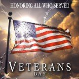 Veterans Day is officially Monday, November 11, 2013