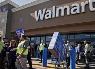 "Wal-Mart is already making a number of so-called ""Black Friday"" deals on electronics available through its website"