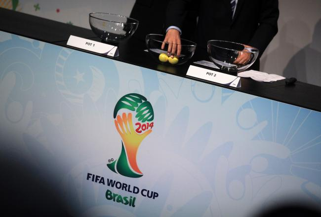 2014 World Cup: Group draw
