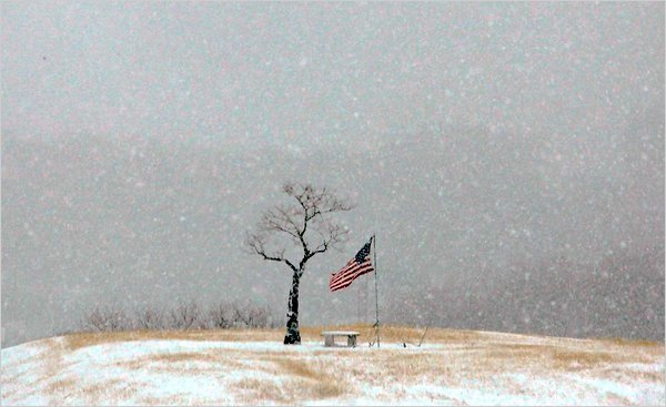 A winter storm has hit Texas causing event cancellations travel hindrances and power outages photo