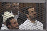Ahmed Maher, Ahmed Douma and Mohamed Adel were found guilty of organizing an unauthorized protest