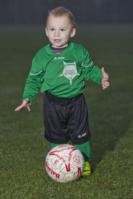 Bryce Brites became world's youngest professional football player at only 20 months
