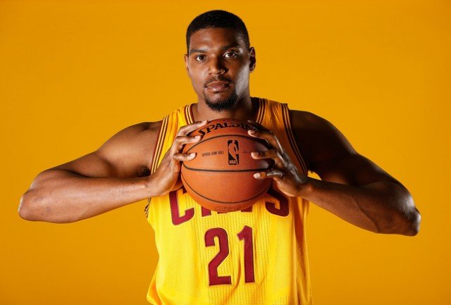 Cleveland Cavaliers' center Andrew Bynum has been suspended indefinitely for conduct detrimental to the team 640x433 photo