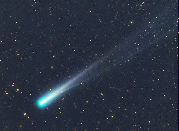 Comet ISON was burned to death on its maiden voyage around the Sun photo
