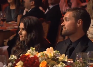 Danica Patrick and Ricky Stenhouse Jr. the NASCAR Sprint Cup Series Awards