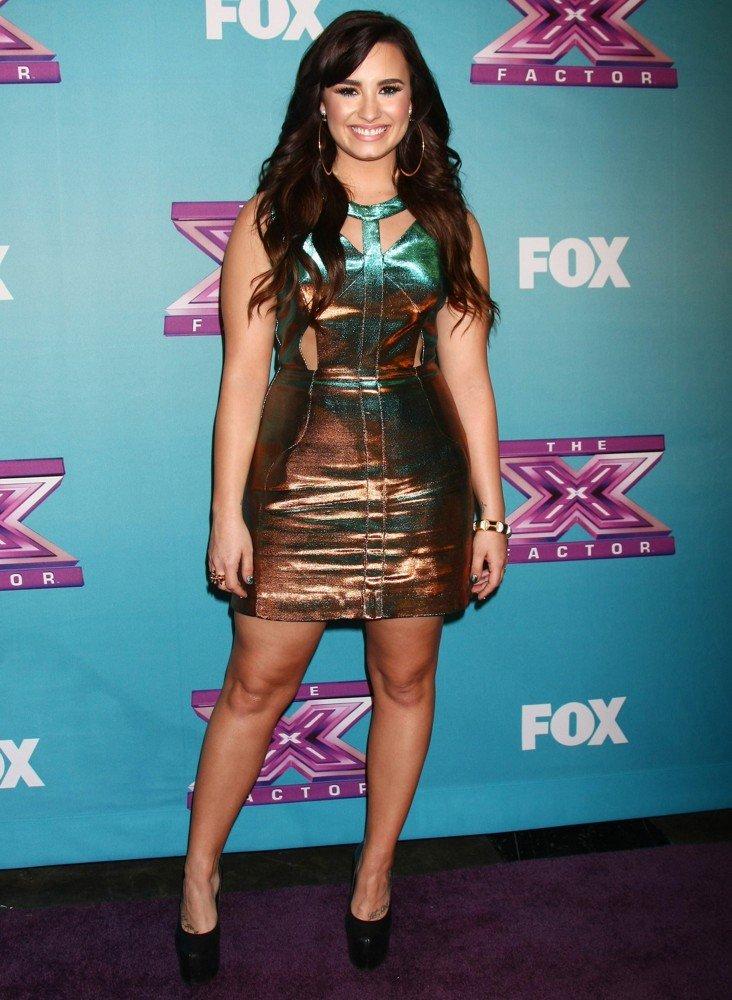 X Factor Judges 2013 Demi Lovato Demi Lovato confirms X...