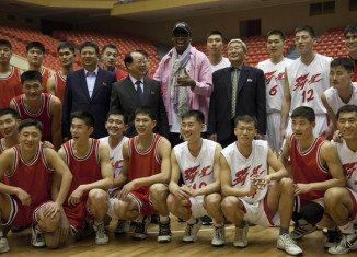 Dennis Rodman held tryouts for North Korean team to face NBA veterans in an exhibition game on Kim Jong-un's birthday
