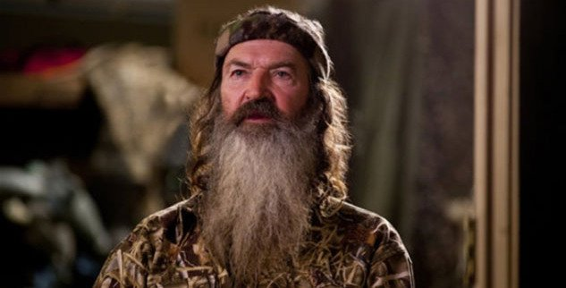 Duck Dynasty's Phil Robertson can continue with the reality show despite his anti gay comments photo